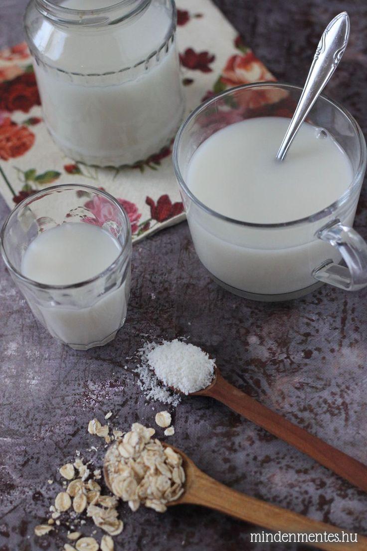 Zabtej házilag egy kis kókusszal - az eddigi legegyszerűbb és legolcsóbb házi növényi tej receptem: tejmentes, vegán ital.