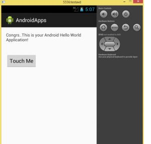 <p>In this tutorial, we do two tasks 1. Configure an android project in Eclipse 2. Develop and run an android hello world example Android applications can be developed with the following IDE 1. Eclipse ADT 2. Android Studio 3. Existing IDE with ADT Let us see how to develop android applications …</p>