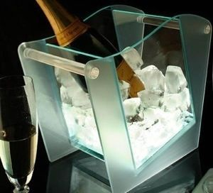 MODERN ICE BUCKET WITH LED LIGHTS