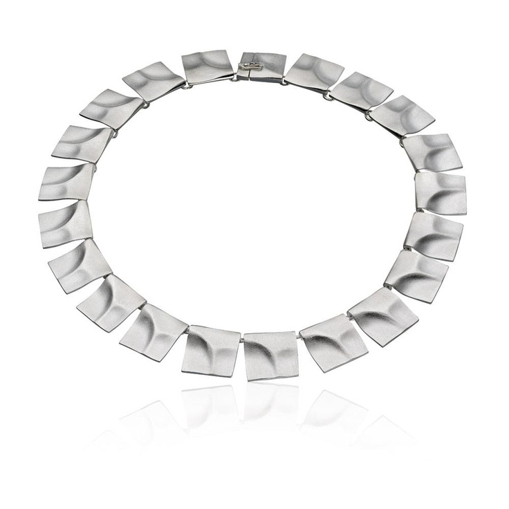 GALACTIC PEAKS Silver Necklace / Design Björn Weckström / Lapponia Jewelry / Handmade in Helsinki