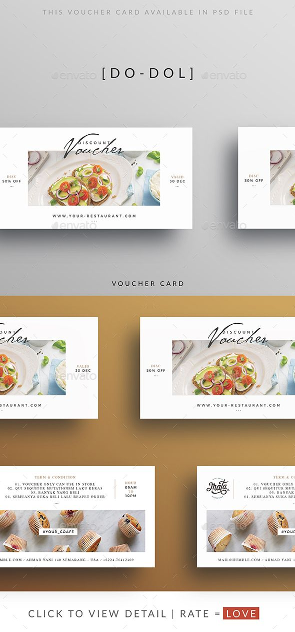The  Best Gift Voucher Design Ideas On   Coupon