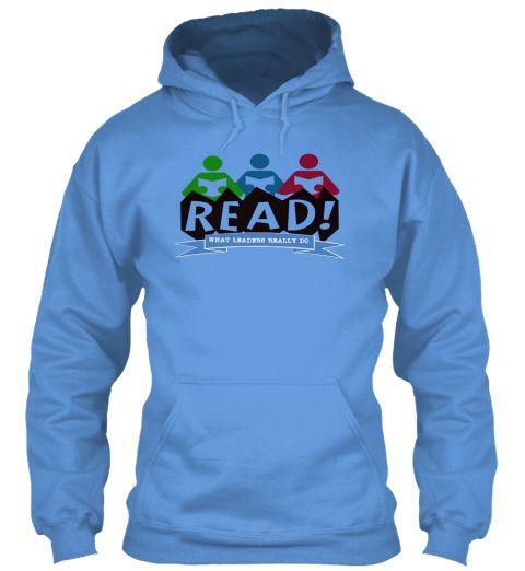 Read  Carolina Blue Sweatshirt Front