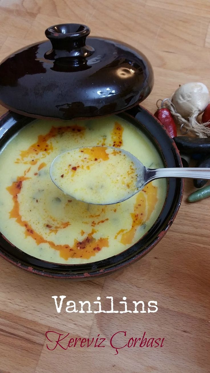 Sebze Çorbası Kereviz Çorbası Değişik Çorba Tarifleri Kereviz özel tadı ve kokusu sebebiyle...