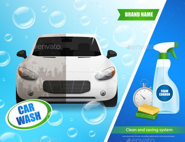 Car Wash System Advertisement