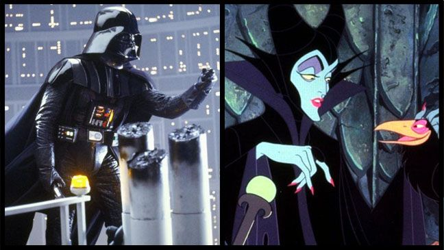 Darth Vader and 'Sleeping Beauty's' Maleficent
