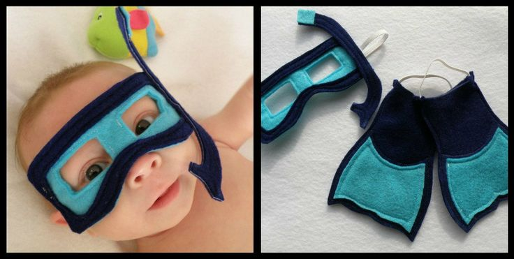Deep Sea Baby - Infant Size Photo Prop/Costume (available in child size). $25.00, via Etsy.