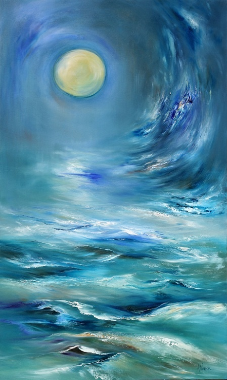 Anna Warren brilliant artist from Eden, NSW, Australia. Would love to see her paint some Sydney scenes!