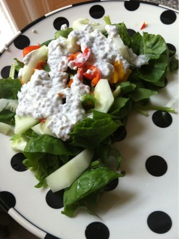 Lemon Black Pepper Chia Seed #Protein Dressing #Recipe made with @Chobani !!