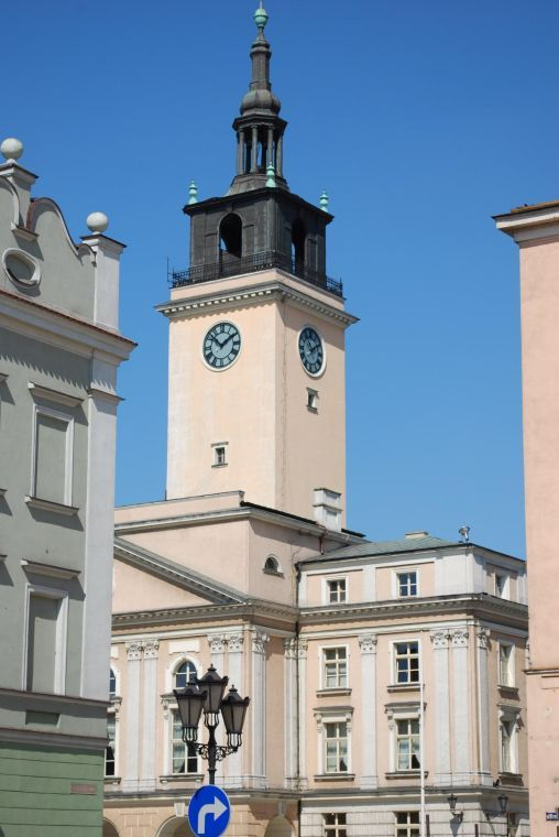 Kalisz Town Hall clock tower, Kalisz, Poland