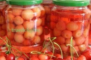 Compot de cirese fara conservanti - Culinar.ro