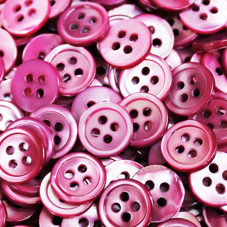 Beautiful Buttons! Pink details to compliment of SS17 collection #PoetryofColour