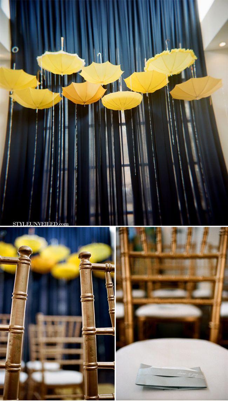 Morton Salt Girl Wedding Inspiration / Two Birds Photography / via StyleUnveiled.com