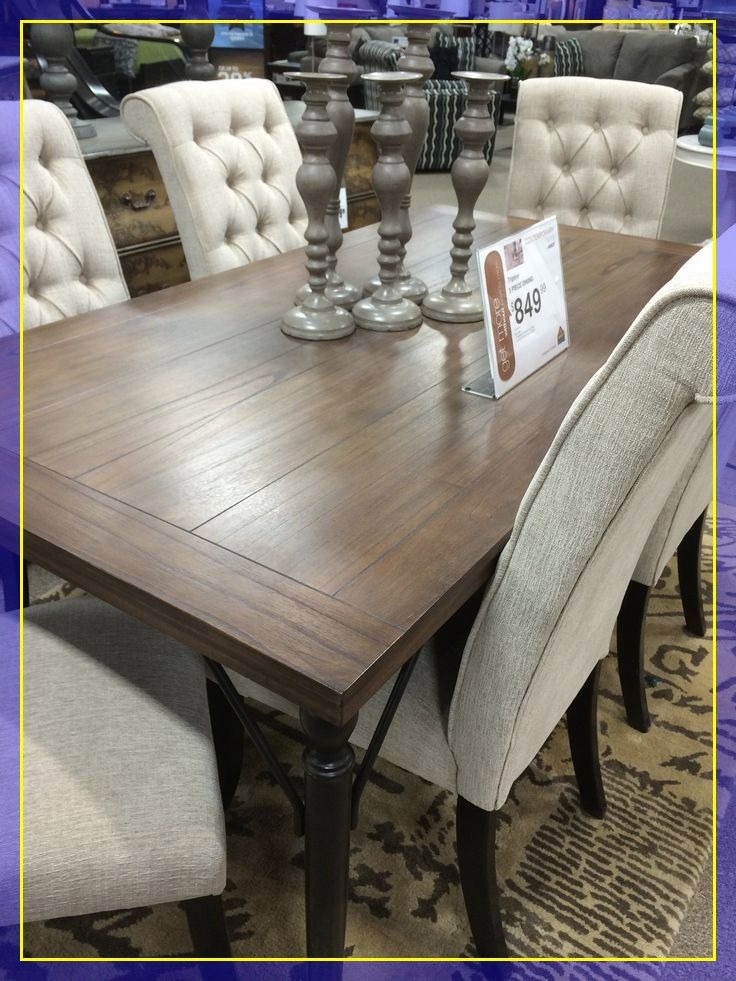 Pin On All Things Home Decor, Ashley Furniture Dining Table And Chairs