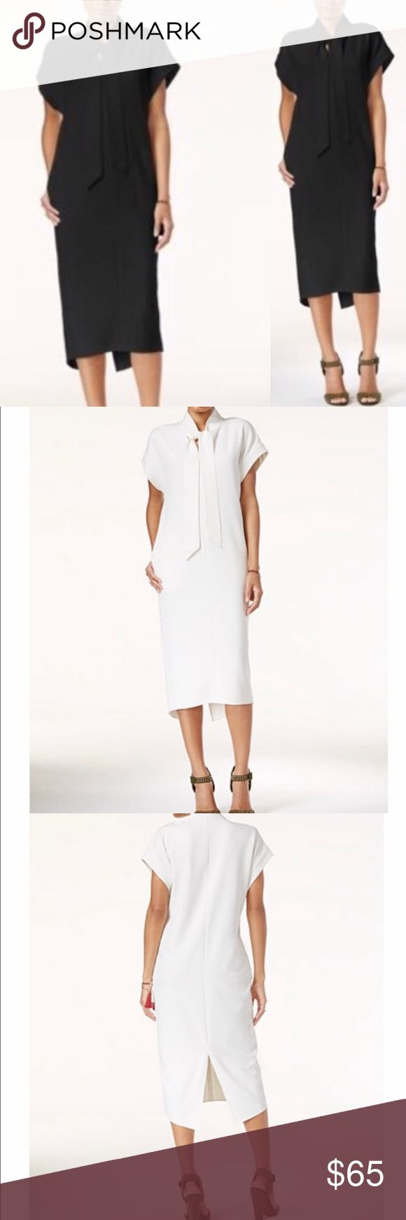 Rachel Roy Tie-Neck Midi Dress Show off your impeccable style in this of-the-moment midi dress from Rachel Rachel Roy. Rachel Roy Dresses Midi