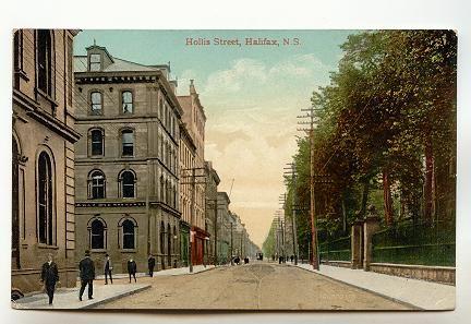 Downtown, Hollis St , Halifax, Nova Scotia