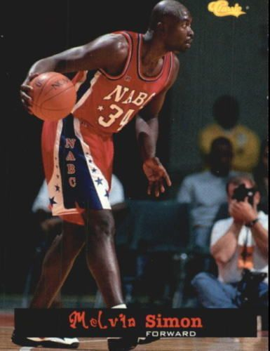 1994 Classic #54 Melvin Simon: Indiana Pacers: NMT #Classic #IndianaPacers