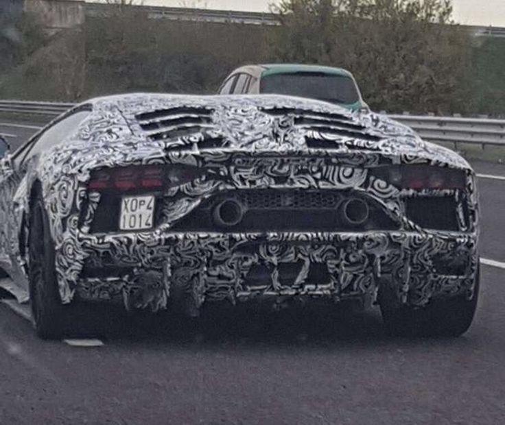 Mulig Lamborghini Aventador efterfølger spottet - http://bit.ly/2ANCQVl