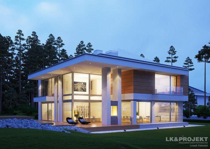 Projekty domów LK Projekt LK&1164 zdjęcie 3