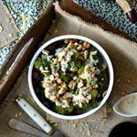 Brócoli al vapor con aliño de tahini y limón. . . . #food #foodie #cooking #cocina #receta #recipe #gastro #foodlover #directopaladar