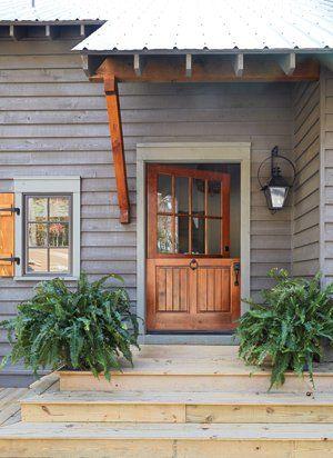 Cabin exterior. #rustic #exteriors