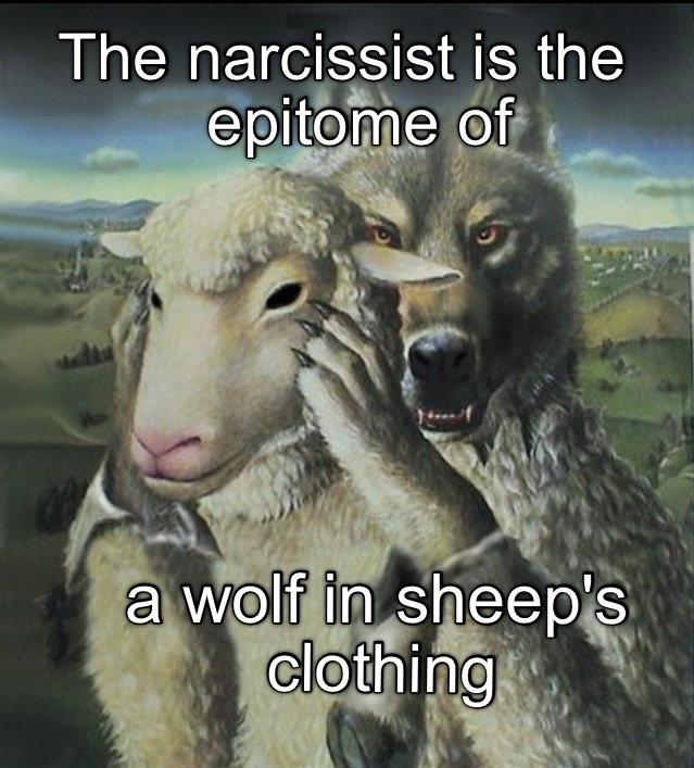 The narcissist is.....Wolfgang
