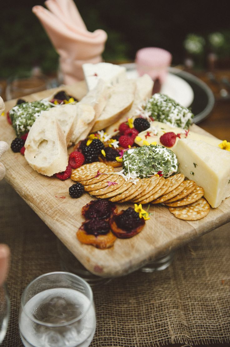Brown Brothers Catering - Appetizer cheese board