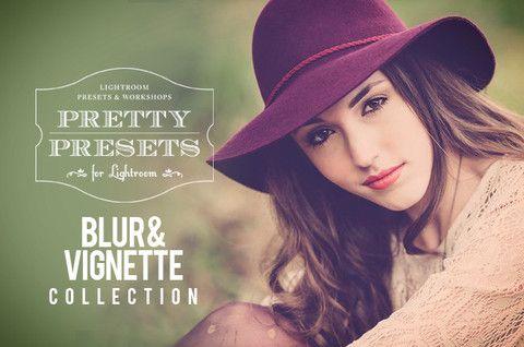 Blur Collection + Vignette Collection from Pretty Presets for Lightroom. Works in Lightroom 3, Lightroom 4 and Lightroom 5.