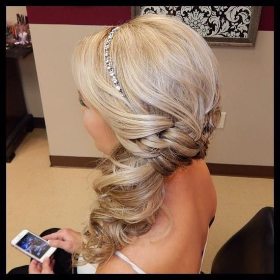 long hair styles images 2232 best hairstyles images on hairstyle ideas 2232 | 4277d67dbc97c173d9995b2d0d531c73 homecoming hairstyles prom hairstyles sideswept