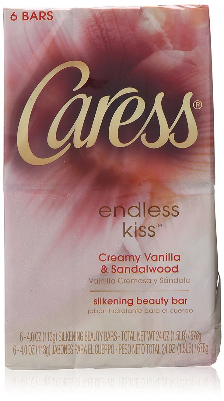 Caress Endless Kiss Creamy Vanilla and Sandalwood Silkening Beauty Soap Bar for Unisex,6 Count,  4 Ounce * Click on the image for additional details. (This is an Amazon Affiliate link and I receive a commission for the sales)