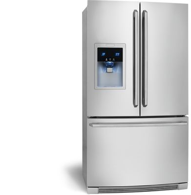 Electrolux Appliances Counter-Depth French Door Refrigerator with Wave-Touch® Controls EW23BC85KS