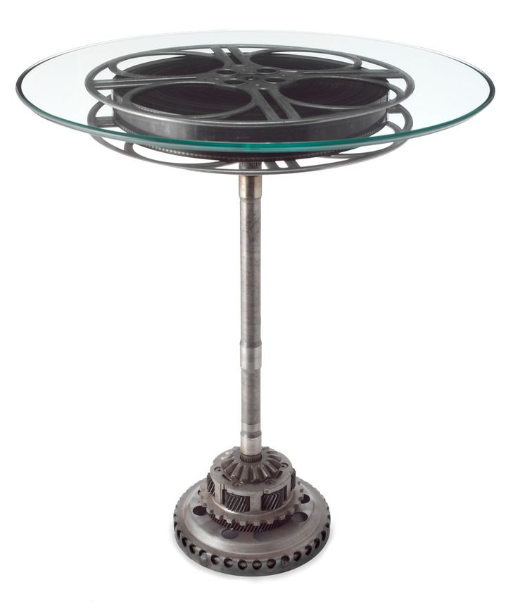 FILM REEL TABLE | Films, Movies, Cinema, Side, Tables | UncommonGoods