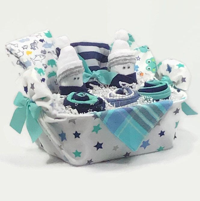 Baby Boy Gift Basket New Mom Gift Baby Shower Boy New Baby Baby Boy Gift Baskets Baby Boy Gifts New Baby Products
