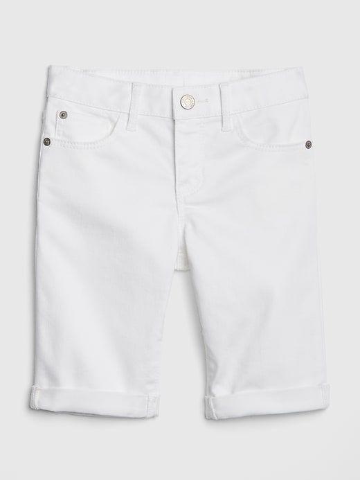 f1e1f953e2 Superdenim Bermuda Shorts in Stain-Resistant | Gap | Kids Fashion ...