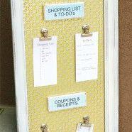 DIY Magnetic Organizational BoardIdeas, Command Center, Organic Boards, Magnets Boards, Diy Magnets, Organizational Boards, Magnets Organizational, Memo Boards, Decor Blog