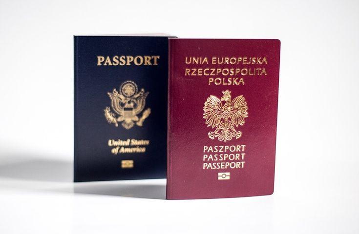 paszport polski i amerykański
