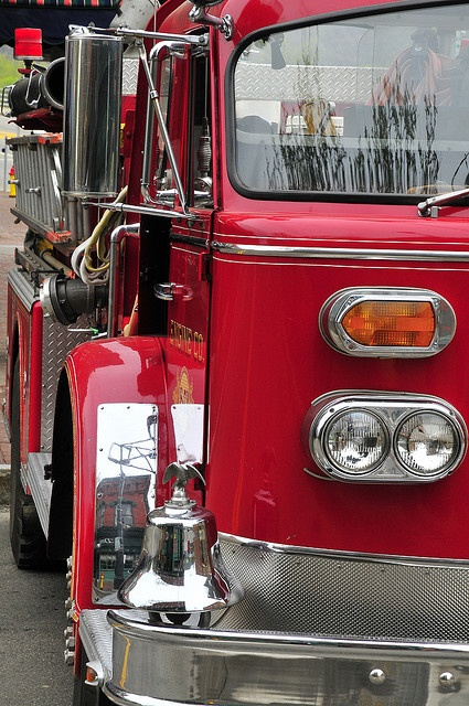 "American LaFrance. What other name says ""fire truck"" more than American LaFrance"