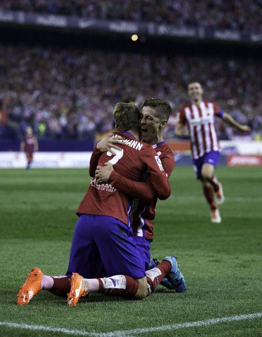 Fernando Torres and Antoine Griezmann