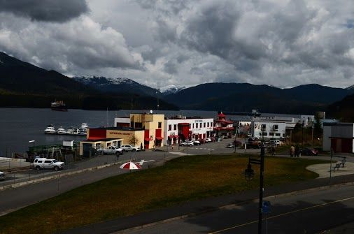 Cow Bay Street in Prince Rupert, BC, Canada @CruisePictures