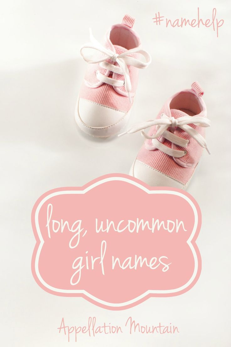 Looking for long names for girls and uncommon baby names, too!