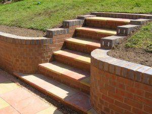brick block and sleeper retaining walls - Retaining Wall Engineering Design