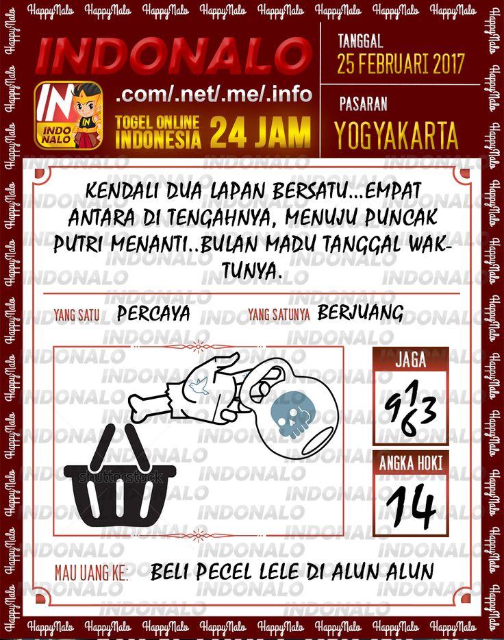 Taysen Pools 6D Togel Wap Online Live Draw 4D Indonalo Yogyakarta 25 Februari 2017