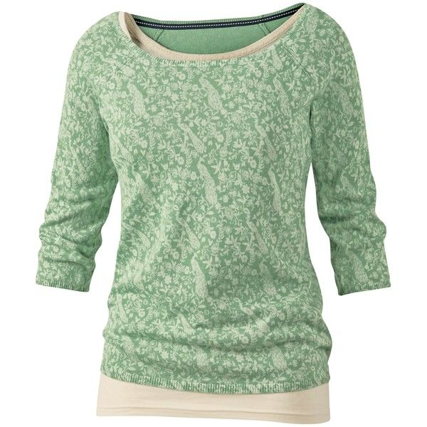 Fat Face Peacock Print Jumper, Moss (51 AUD) ❤ liked on Polyvore featuring tops, sweaters, shirts, green, jumpers, 3/4 length sleeve tops, green top, 3/4 length sleeve shirts, 3/4 sleeve tops e lightweight sweaters