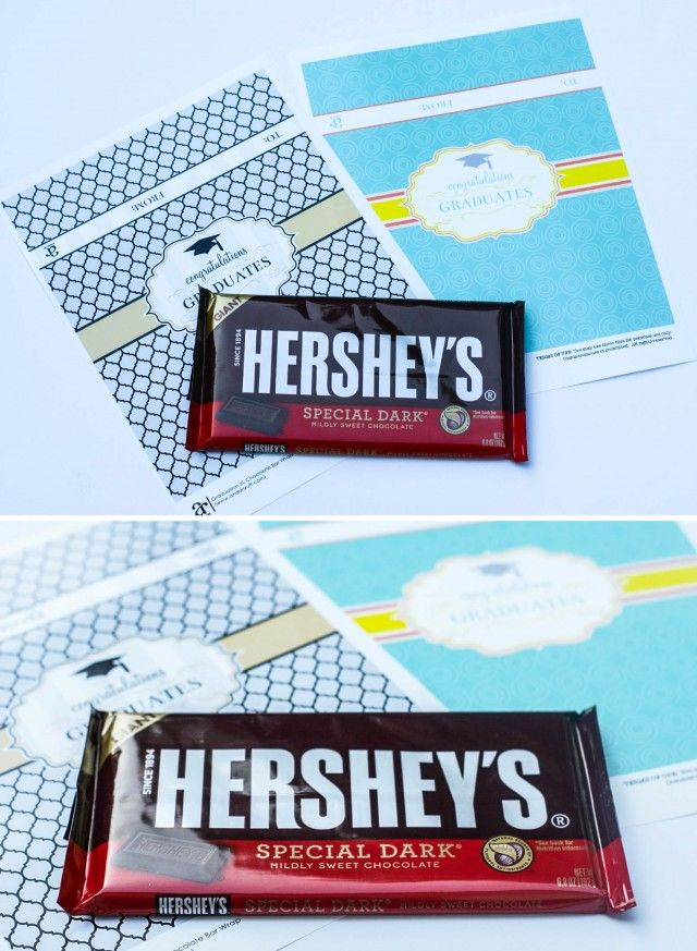 chocolate bar wrappers template
