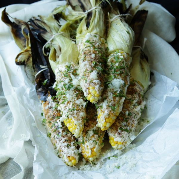 MEXICAN CORN ELOTE-- 15 side dishes that will take your barbecue eats to the next level