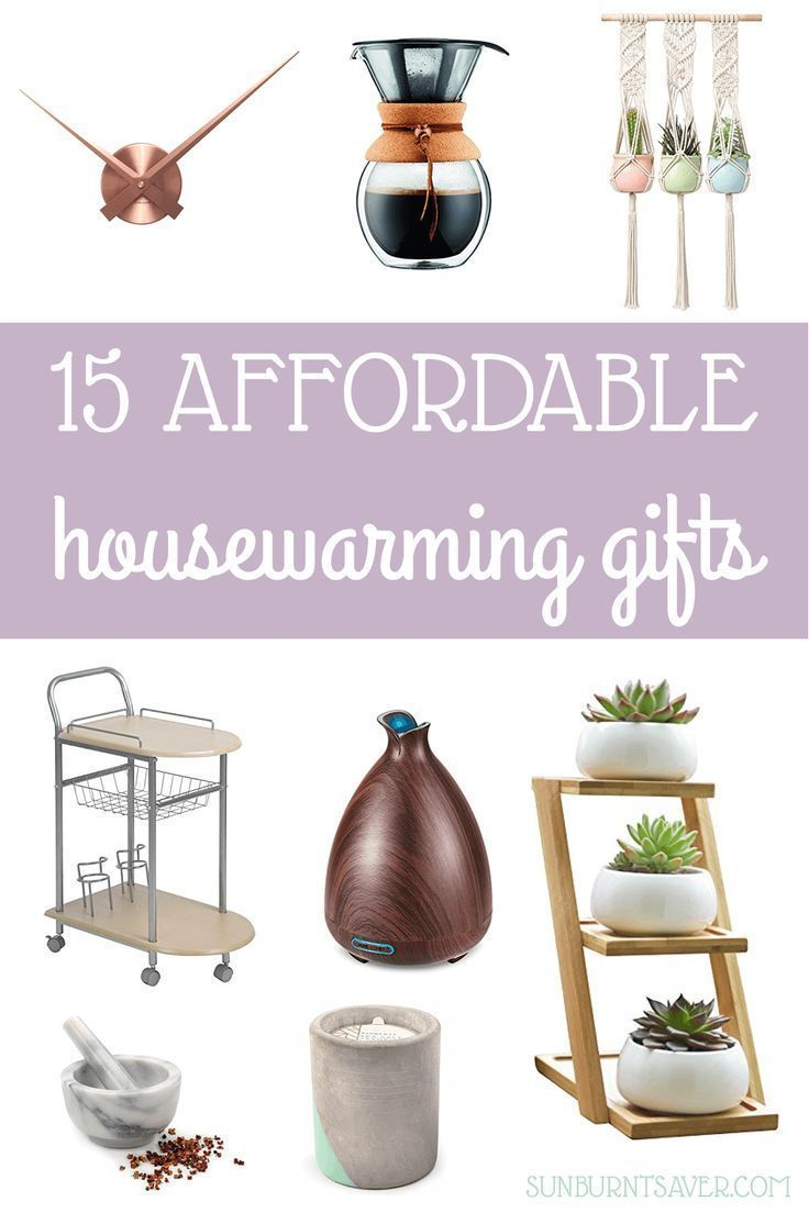 15 Affordable And Cute Housewarming Gifts With Images House