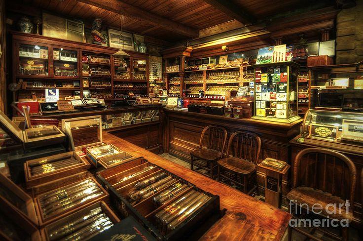 Cigar Shop Photograph by Yhun Suarez