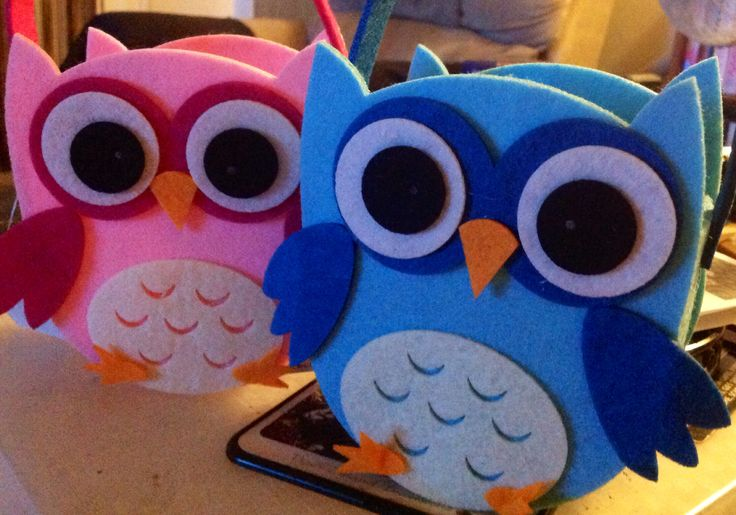 Owl Gift bags I am going to make these to for Elly Baba's Treasures