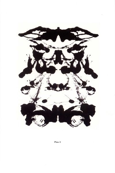 Andy Warhol, Rorschach, 1984  A everybody tell me ... is that a sort of teddy bear with a costume ?