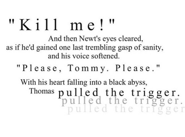 Maze Runner Quotes With Page Numbers: Please Tommy Please