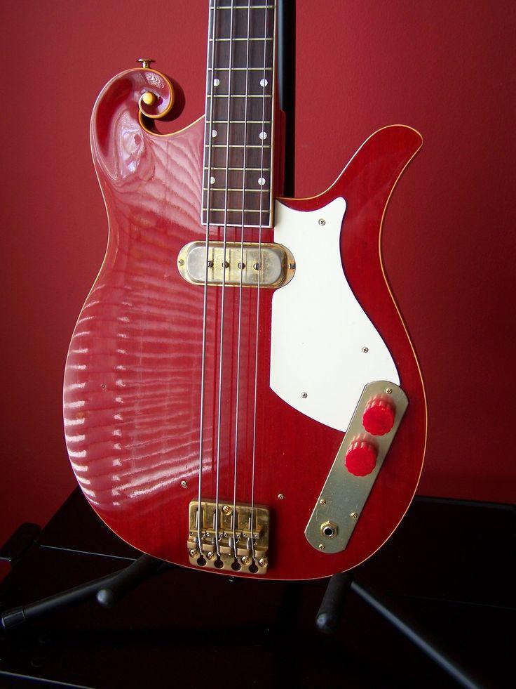 RARE 50's Vintage Premier Bass Guitar Harmony